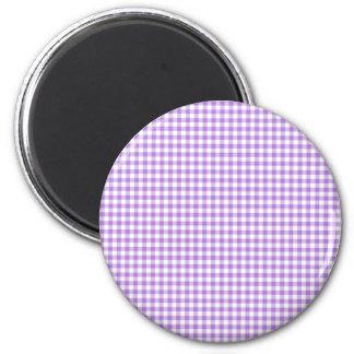 LavendelGingham Magnet