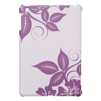 Lavendelöblommigt iPad Mini Mobil Skydd