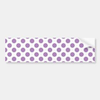 Lavendelpolka dots bildekal