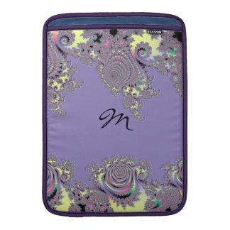 LavendelsnöreMandelbrot Monogram MacBook Air Sleeve