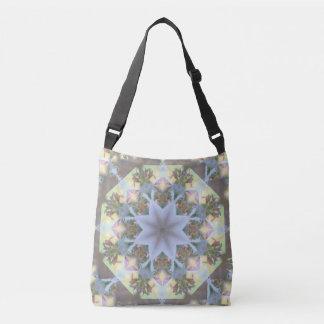 LavendelStarburst Mandala Crossbody/toto Axelväska