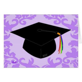 Lavendelstudenten 2010 hälsningskort
