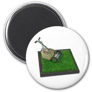 LawnmowerOnTheGrass100711 Magnet