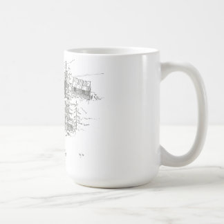 Lax sjömugg kaffemugg