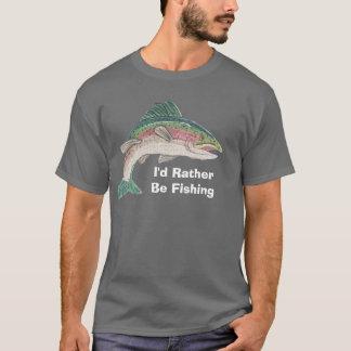 Laxen som jag skulle fiskar ganska t shirts