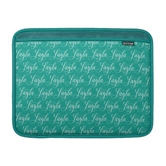 Layla - modern Calligraphynamndesign MacBook Air Sleeve