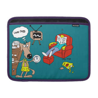 LazyDogg Macbook luft Sleeve För MacBook Air