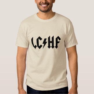 LCHF-T-tröja: Logotyp för heavy metal LCHF Tee Shirt
