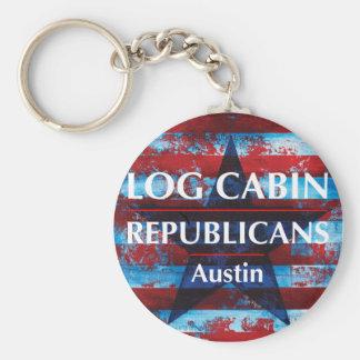 LCR Austin Keychain - runda Rund Nyckelring