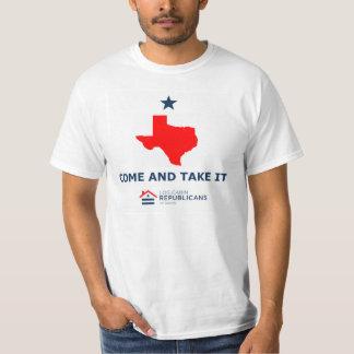 LCR Austin - komm ta den (TX) värderar T-tröja Tröjor