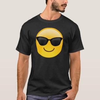 Le ansikte med solglasögon coolt Emoji Tshirts