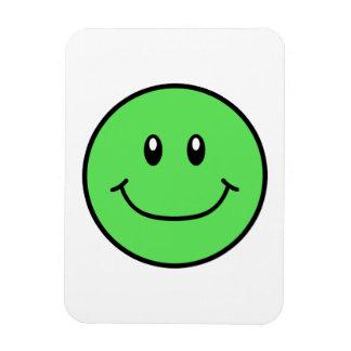 Le böjlig magnetgrönt 0001 för ansikte magnet