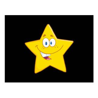 Le den gula stjärnan vykort