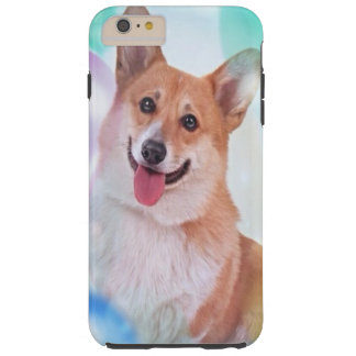 Le den walesiska Corgihunden för Pembroke Tough iPhone 6 Plus Fodral