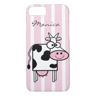 Le det Monogrammed djura trycket för ko