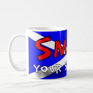 Le ditt skott kaffemugg
