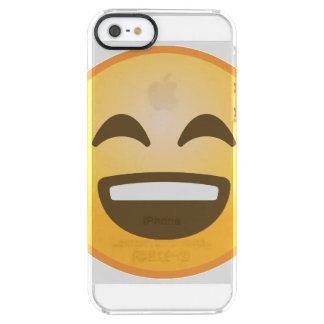 Le Emoji Clear iPhone SE/5/5s Skal