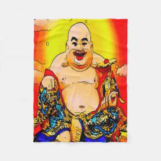 Le filten för Buddha grafikull Fleecefilt