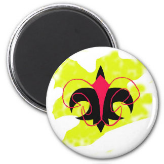 Le Fleur Grafitti Magnet