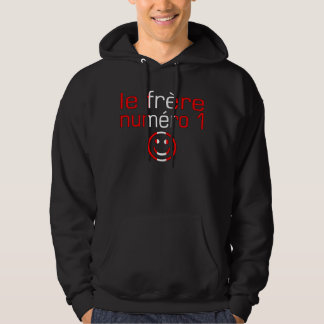 Le Frère Numéro 1 - numrera 1 broder i kanadensare Hoodie
