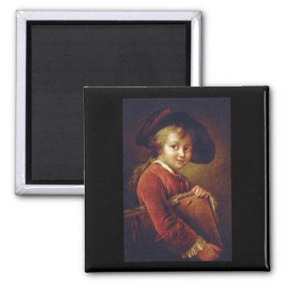 Le Jeune Eleve', Francois_Portraits> Magnet