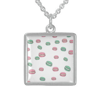 Le Macaron Sterling Silver Halsband