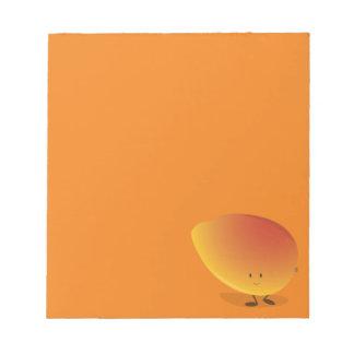 Le mangoteckenet anteckningsblock