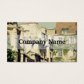 Le Marais i Paris, frankrike, idyllisk arkitektur Visitkort