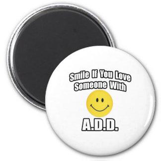 Le, om du älskar någon med A.D.D Magneter För Kylskåp
