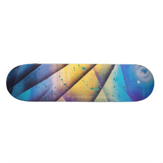 Le Passera 2 Skateboarddäck Mini Skateboard Bräda 18,7 Cm