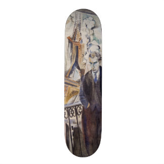 Le Poète Philippe Soupault av Robert Delaunay 1922 Skateboard Bräda 21,5 Cm