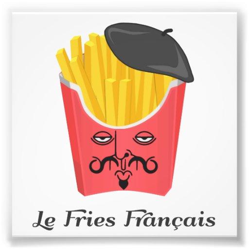 Le-pommes frites från frankriken fotografi
