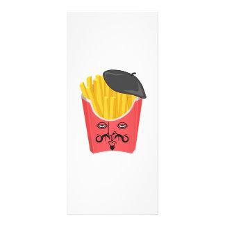 Le-pommes frites från frankriken reklamkort