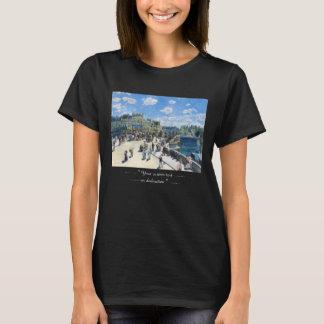Le Pont-Neuf, Paris Pierre Auguste Renoir målning Tee Shirts