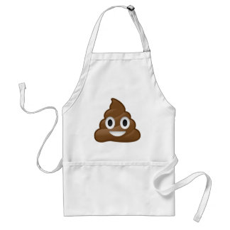 Le poopen Emoji Förkläde