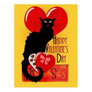 Le Prata Noir - lyckliga valentin dag Vykort
