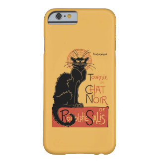 Le Prata Noir vid Steinlen Barely There iPhone 6 Fodral