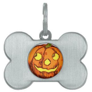 Le Pumpking ID-bricka Husdjur