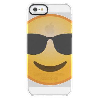 Le solglasögon Emoji Clear iPhone SE/5/5s Skal