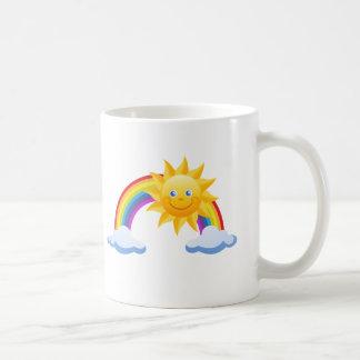 Le solskenregnbågen kaffemugg