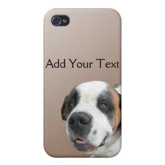 Le St Bernard på brunt iPhone 4 Hud