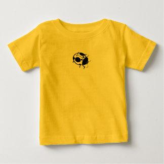 Le svartvit kortkort för nyckelpiga - tee shirt