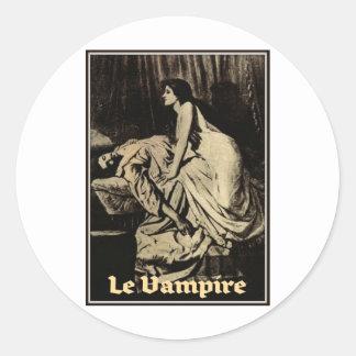 Le Vampyr av Burne-Jones 1897 Runt Klistermärke