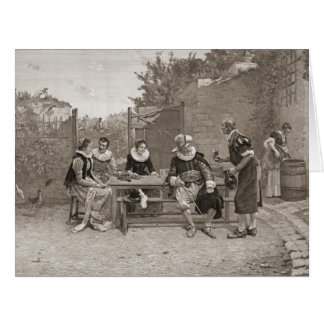 Le Vin Nouveau 1894 Hälsnings Kort