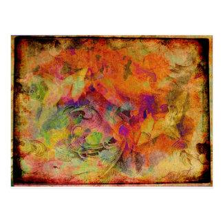 Leaflorn Tapestry Vykort