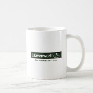 Leavenworth gata kaffemugg
