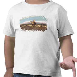 Leda flocken för att beta (olja på kanfas) tröjor