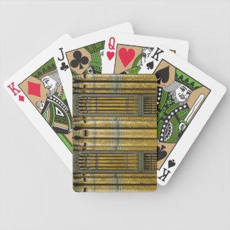 Leda i rör organ som leker kort - Birmingham Spelkort