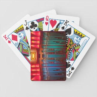 Leda i rör organ som leker kort - Christchurch Spelkort
