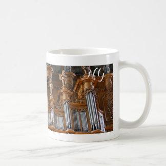 Leda i rör organmuggen - Albi, frankrike Kaffemugg